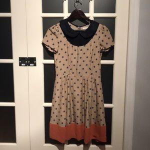 Ezra Geometric print 50's A-Line dress